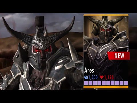 ARES Super Attacks | INJUSTICE Multiplayer | IOS, Android