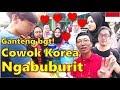 REAKSI COWOK KOREA PERTAMA KALI NGABUBURIT DI INDONESIA