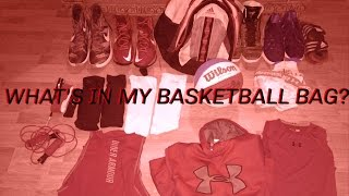 What's In My Basketball Bag? || Kobe Jayy