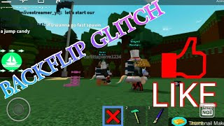 How to do backflip glitch in build a boat for treasure roblox