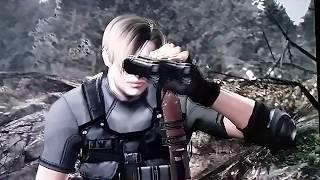 Resident Evil 4 (Parte 6) - MONSTRO DO LAGO & LOBOS ME ESPERANDO!!