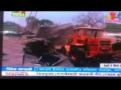 Karail Slum Demolition Dhaka Bangladesh