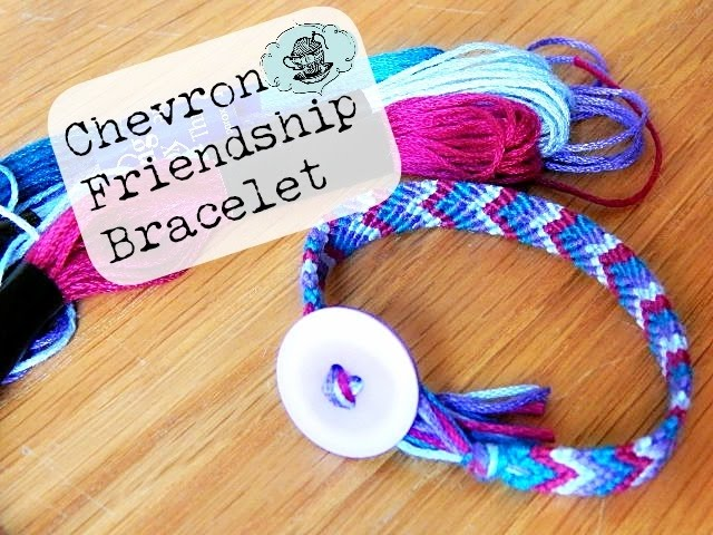 How To Make A Chevron Friendship Bracelet With Pictures