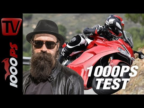 1000PS Test - Ducati SuperSport - Sporttourer mit Testastretta