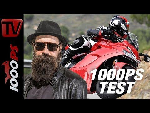 Ducati SuperSport 2017 Test - Sporttourer mit Testastretta und herrlichem Sound!