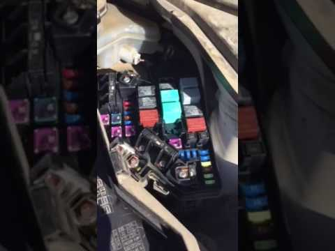 2010 Acura Rdx Mdx A C Clutch Relay Problem