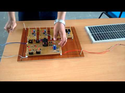 Application of current fed soft switching push - pull converter in PV system