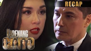 Romina slaps Robert with the truth | Kadenang Ginto Recap (With Eng Subs)