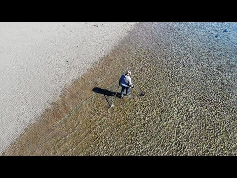 Metal Detecting an Old Beach with my DJI Mavic Air Drone, by Louie Molnar