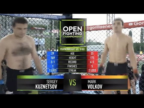 Марк Волков VS Сергей Кузнецов   ВРАЧИ В ШОКЕ   OPEN FC 5   FULL HD   18+