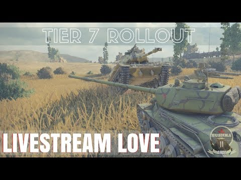 STREAMING TIER 7 JUSTICE World of Tanks Blitz