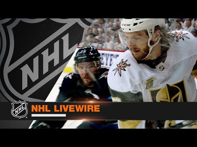 NHL LiveWire: Jets, Golden Knights mic'd up for Game 2 duel