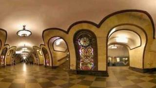 The beauty of the Moscow Metro