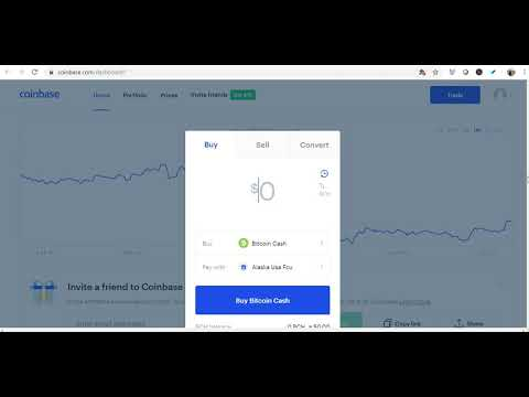 Coinbase - How To Buy Bitcoin Cash