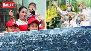 Ốc Thanh Vân cùng các Biệt Tài Tí Hon có 1 chuyến tham quan thú vị tại nhà máy Ranee