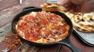 Meat Lovers Pizza Dip | White Thunder Bbq