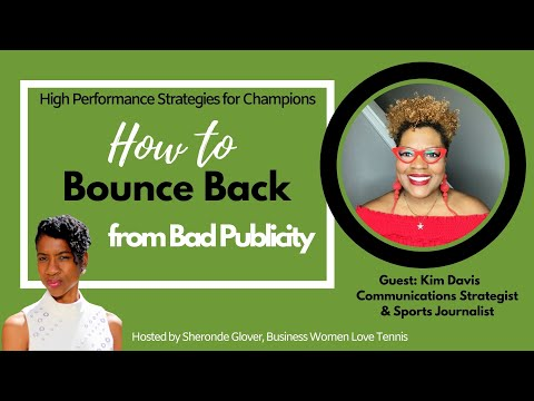 How to Bounce Back From Bad Publicity