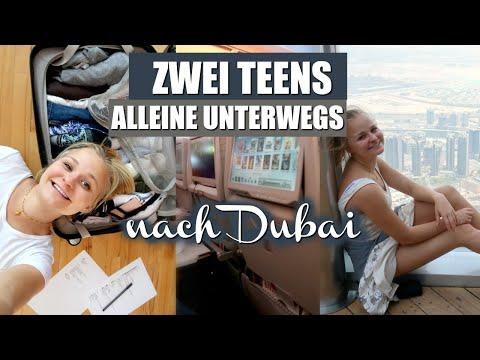 ZWEI TEENS ALLEINE UNTERWEGS NACH DUBAI (Urlaubsvlog, Hotel, Budget,..) // Miss Aliana