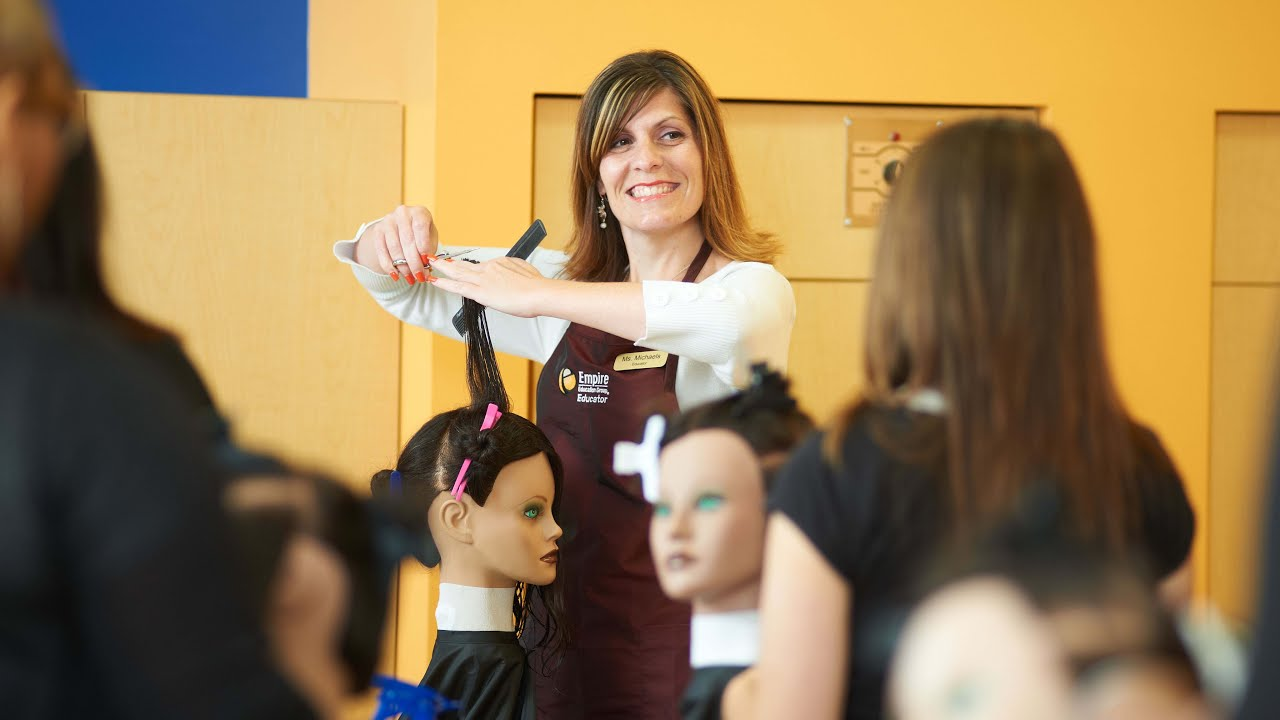 Start Your Exciting Cosmetology Career At Empire Malden Ma Youtube