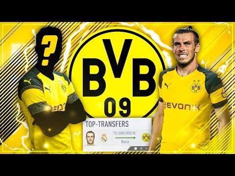 76 MIO + SPIELER FÜR BALE!?? 😱😳 EIN LETZTER MEGATRANSFER!! 🔥  - FIFA 18 Dortmund Karriere #5