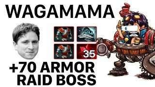 Скачать Dota 2 Wagamama Timbersaw 70 ARMOR RAID BOSS At The End Of This Video