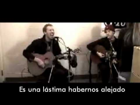 Coldplay- The scientist (live acoustic) sub-español