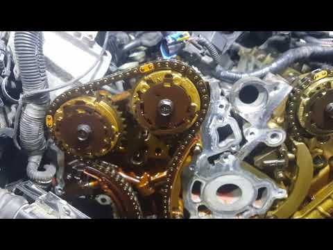 Cadillac SRX- CTS 3 6 timing chain by Falcon's Garage