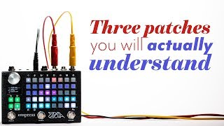 Empress Zoia Pedal - Three patches you'll understand