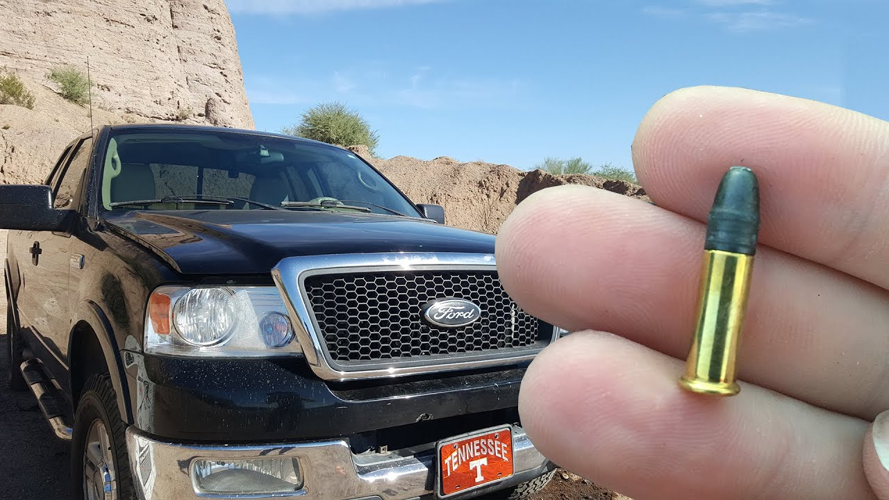 Ford F 650 >> Will a.22 Bullet Go Through a Windshield? - YouTube