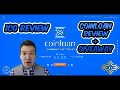 CoinLoan ICO Review | Full Review + Giveaway | CLT Token