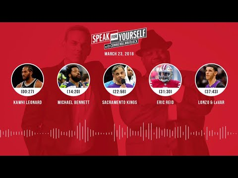 SPEAK FOR YOURSELF Audio Podcast (3.23.18) with Colin Cowherd, Jason Whitlock | SPEAK FOR YOURSELF