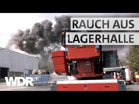 Feuer & Flamme | Einsatz: Brand in einer Lagerhalle | WDR