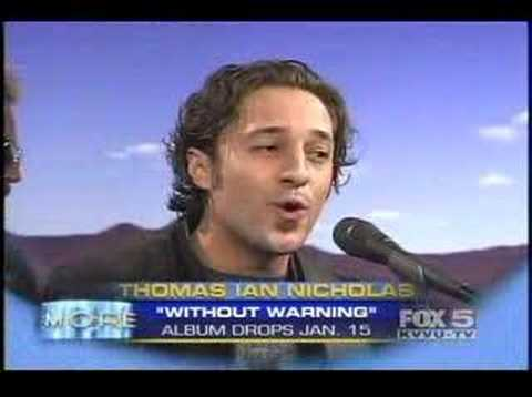 FOX NEWS - Thomas Ian Nicholas - interview/performance