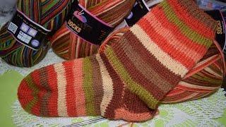 Как связать носки. Подробный мастер класс