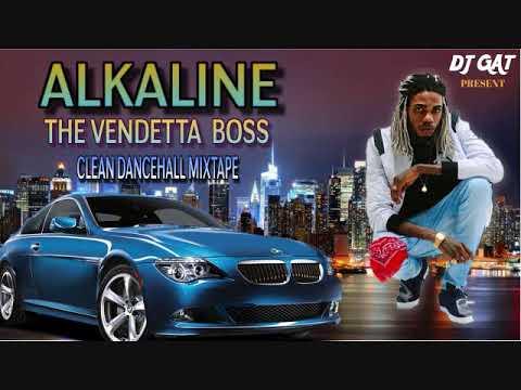 ALKALINE DANCEHALL MIX JULY 2018 DJ GAT VENDETTA BOSS [CLEAN EDIT] LATEST  TUNES JULY 1876899-5643