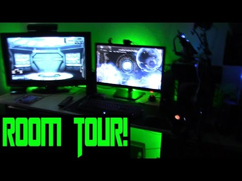 EPIC - MAN CAVE - ROOM TOUR! Games Room 300 Subscriber special!