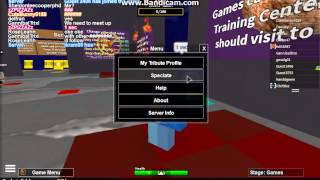 ROBLOX Hunger Games Song (Game Video)