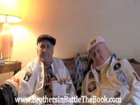 Wild Bill Guarnere and Babe Heffron sing a WWII foxhole