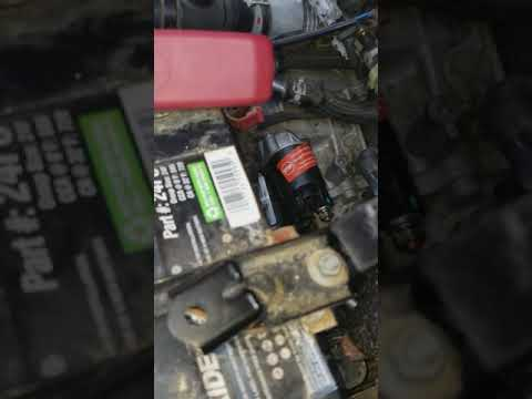 2010 scion XB starter removal part 2