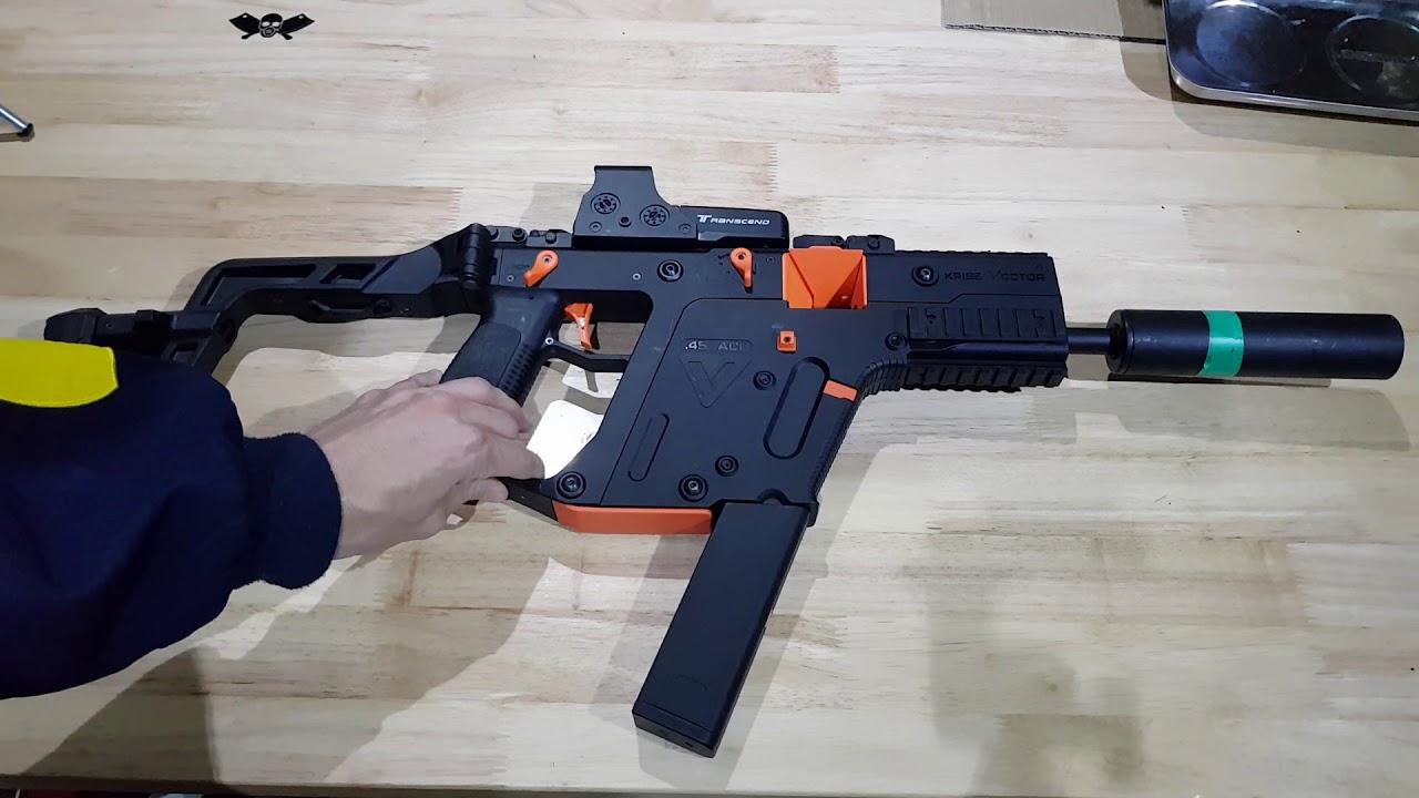 Vector gel blaster Giveaway