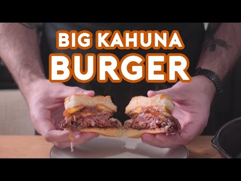 Big Kahuna Burger from Pulp Fiction - Binging with Babish