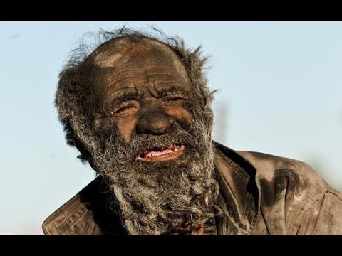 Amoo Hadji amoo hadji - the man who didn`t wash for 60 years - youtube