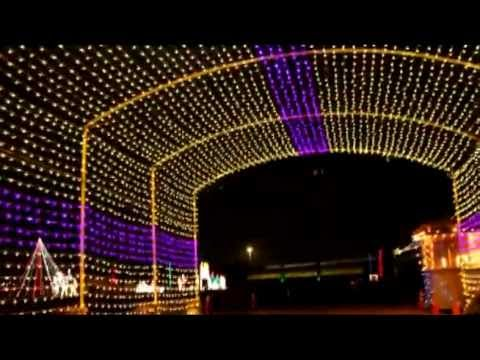 Christmas Lights - Holiday of Lights Del Mar - Review - YouTube