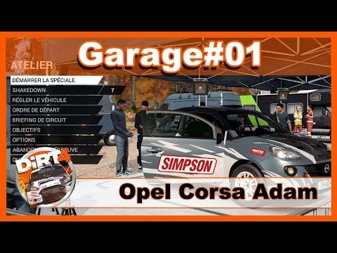 Dirt 4 / Garage #01 Réglage Opel Corsa Adam