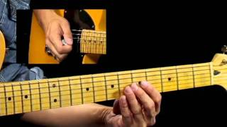 50 Texas Blues Licks - #39 Turn Around - Guitar Lesson - Corey…