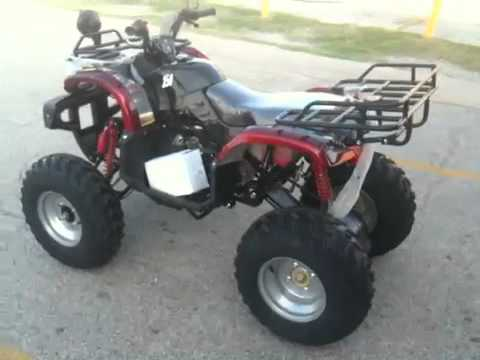 Atv 150 d automatic with reverse