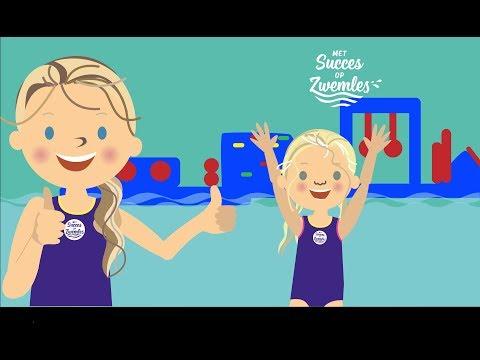Wie Haalt Het? | Hindernisbaan | Jongste Zwemjuf | Met Succes op Zwemles | Help = 10.000 abonnees
