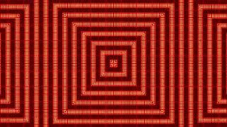 VJ/DJ Flash Orange LED-Licht Für Disko-Video-Hintergrund    Animierte Motion-Hintergrund