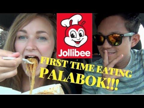 JOLLIBEE MUKBANG!!! | JOLLI HOTDOG | PANCIT PALABOK | FILIPINO FOOD REVIEW