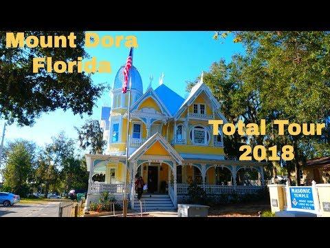 Mount Dora Florida Tour 2018 BEST